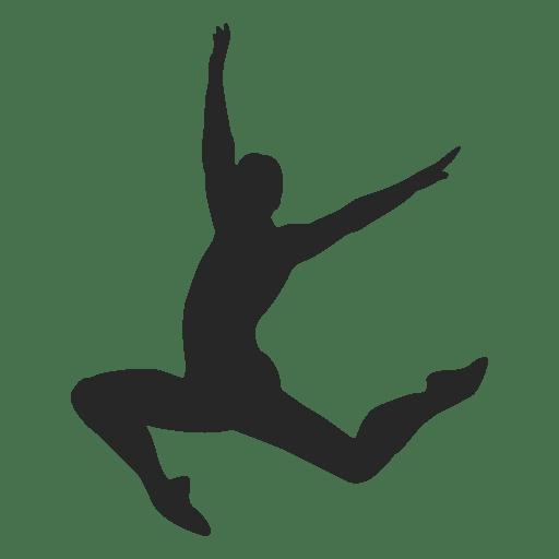 Ballet dancer flour