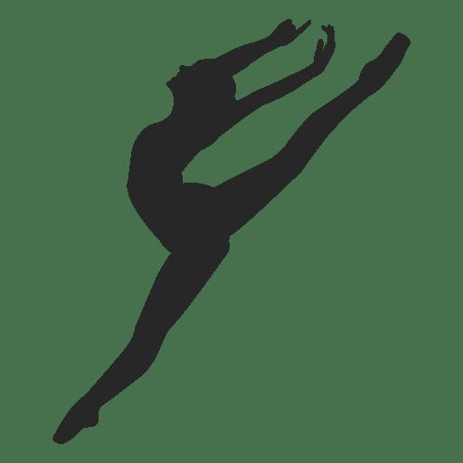 Ballet dancer jump Transparent PNG