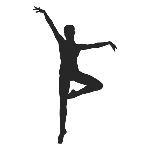 Ballet Dancer On Toe Transparent Png Amp Svg Vector