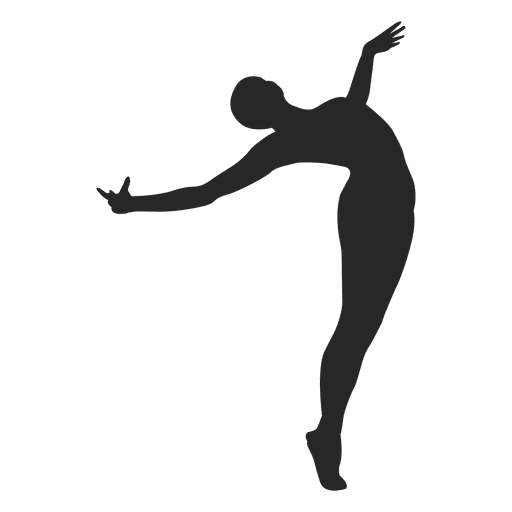 Ballet dancer open arms Transparent PNG