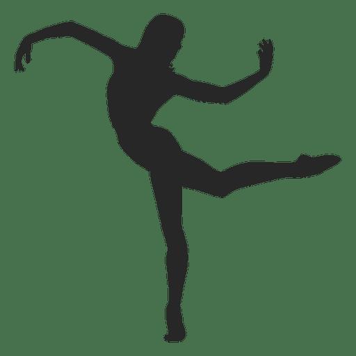 Ballet dancer posing Transparent PNG