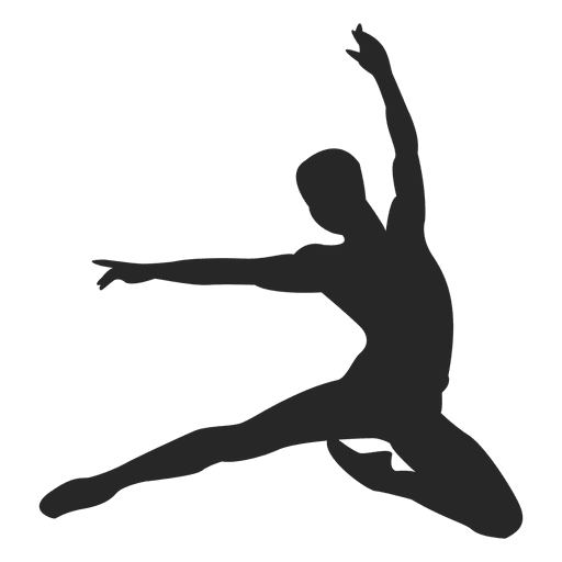 Ballet dancer slide Transparent PNG
