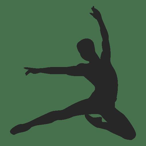 Ballet dancer slide