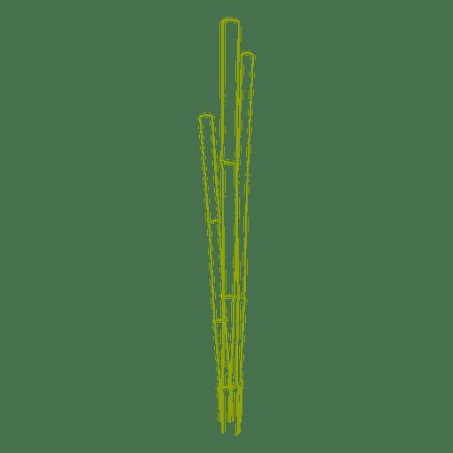 Pacote de bambus Transparent PNG