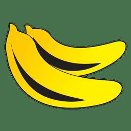 Dibujos animados de plátanos