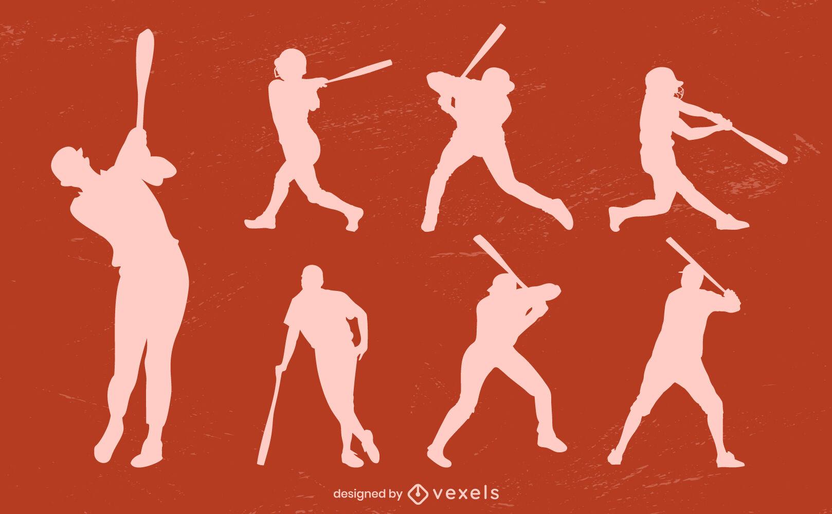 Baseball batting position vector