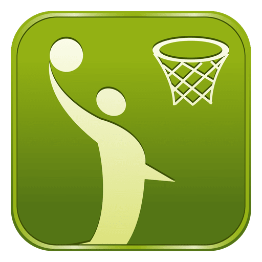 Basketball square icon Transparent PNG