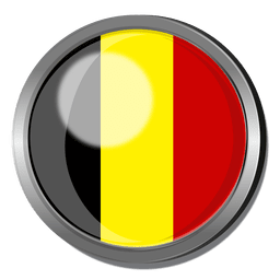 Bélgica divisa de la bandera