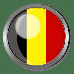 Belgium flag badge