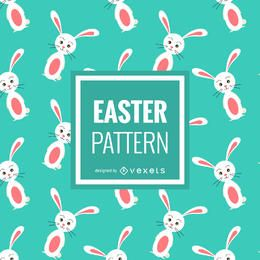 Easter bunnies pattern