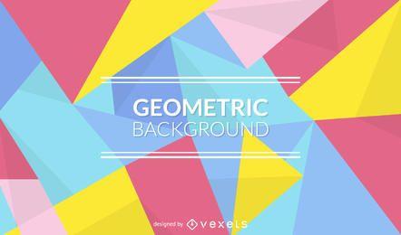 Geometrisches Hintergrunddesign