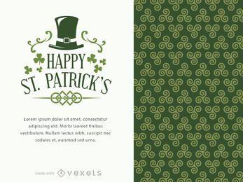 fabricante de cartaz do St. Patrick