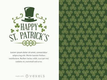 St. Patrick's poster maker