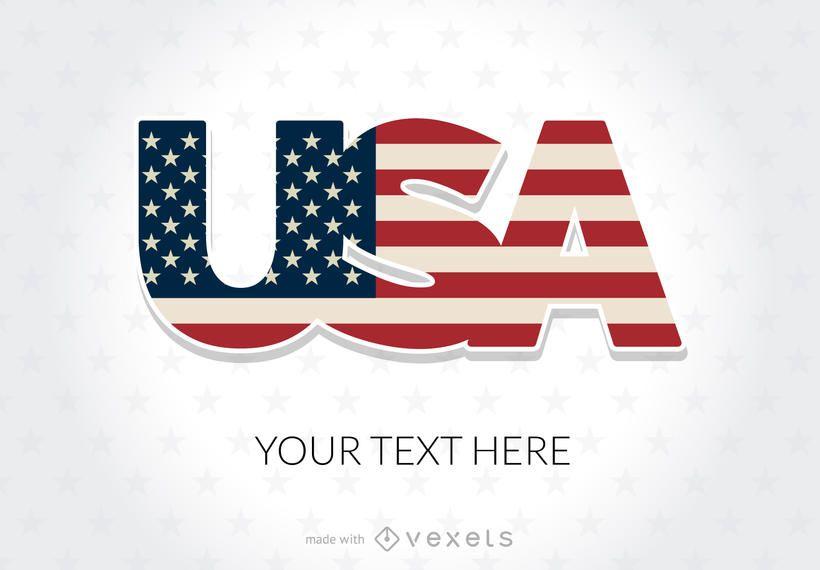 Fabricante de carteles de vacaciones de Estados Unidos