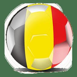 Futebol de bandeira da Bélgica