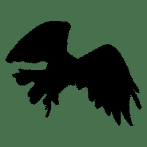 Vogel Eagle Flying Silhouette Transparent PNG