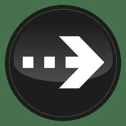 Black circle arrow button