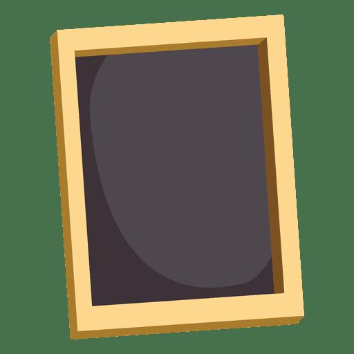 Black frame 1 Transparent PNG SVG vector