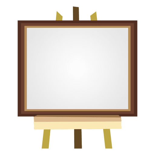 Blank canvas Transparent PNG