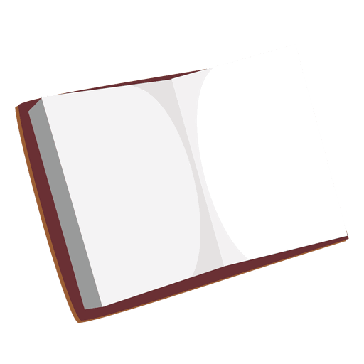 Blank open diary Transparent PNG