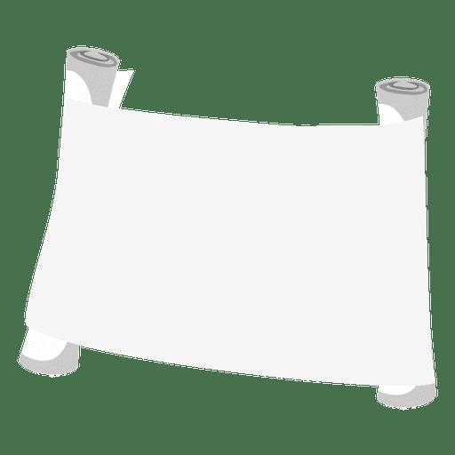 Papel de pergamino en blanco Transparent PNG