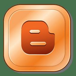 Blog botão metálico