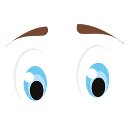 Blue animal eyes