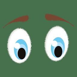 Olhos de animais azuis