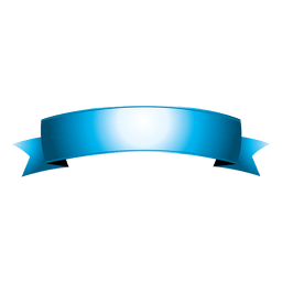 Cinta curva azul 7