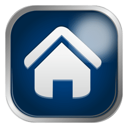 Icono de la casa azul