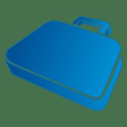 Bolso de oficina azul