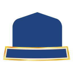 Blue ribbon badge 3