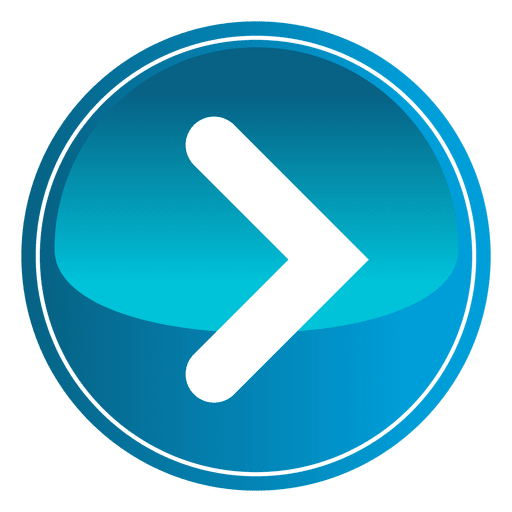 Blue round play button