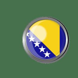 Bosnia divisa de la bandera