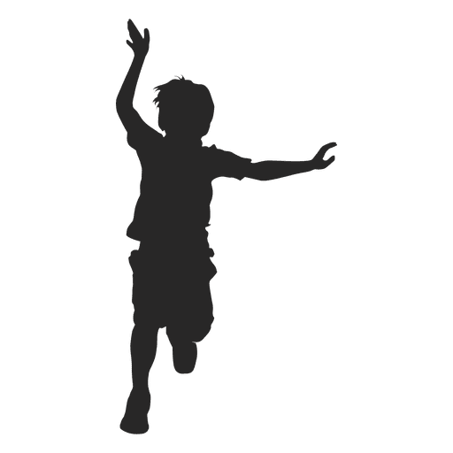 Boy child running Transparent PNG