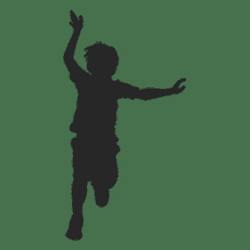 Boy child running