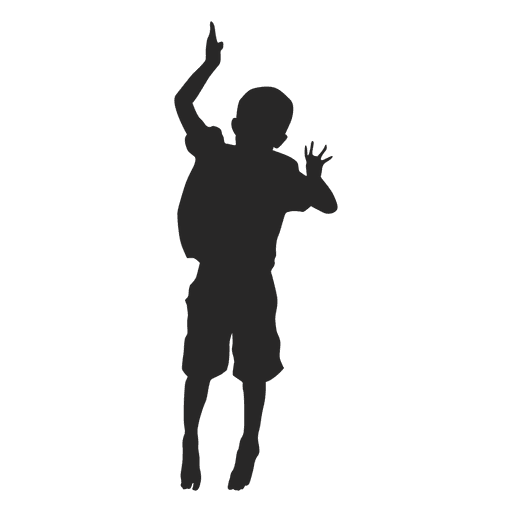Boy Jumping Silhouette 9 Transpa Png