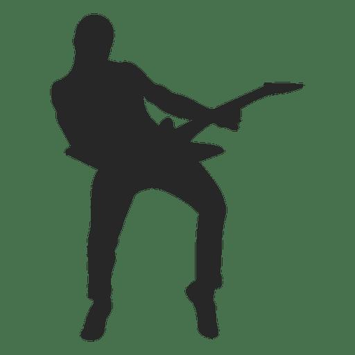 Niño tocar la guitarra