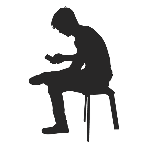 Person Sitting Silhouette Png | www.imgkid.com - The Image ...