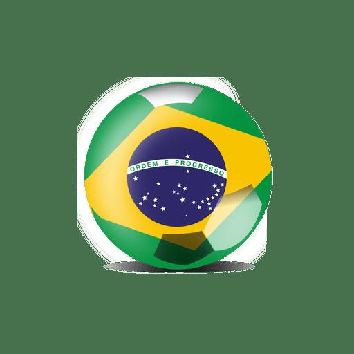 Bandera de futbol de brasil Transparent PNG