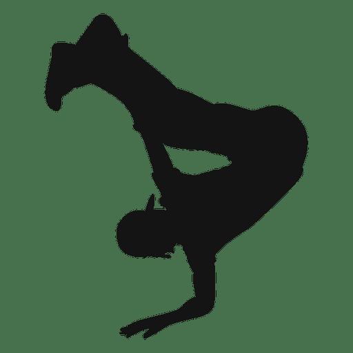 Break dancing boy