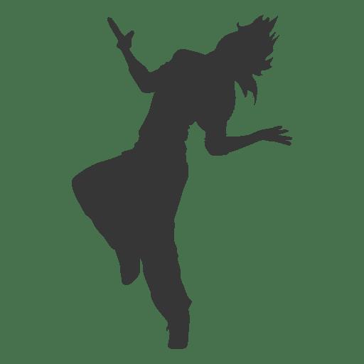 Break dancing girl Transparent PNG