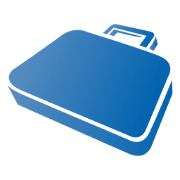 Briefcase Flat Design