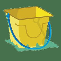 Dibujos animados de cubo