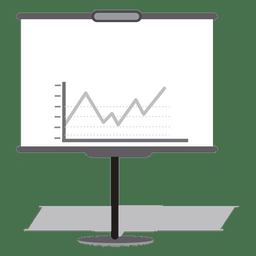 Business presentation board Transparent PNG