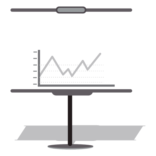 Tablero de presentacion de negocios Transparent PNG