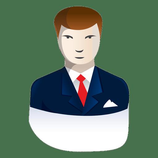 Homem de negócios dos desenhos animados 8 Transparent PNG