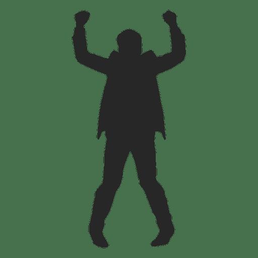 Businessman celebrating success 1 Transparent PNG
