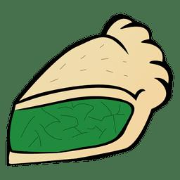 de dibujos animados de la torta