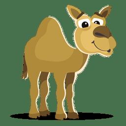 Caricatura de camello